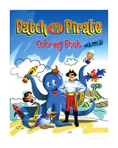 Patch the Pirate Coloring Book