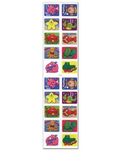 Sea Life Stickers - Qty 90 (6 sheets per pack) - Cannot ship Media Mail.