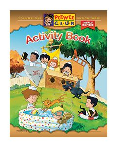 PeeWee Sailor Activity Book - Vol. 1