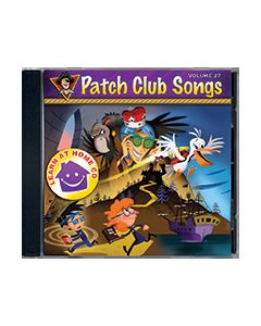 Patch Club Songs - Vol. 27 - Learn at Home - CD