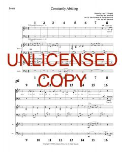 Constantly Abiding - Printable Orchestration - Printable Download