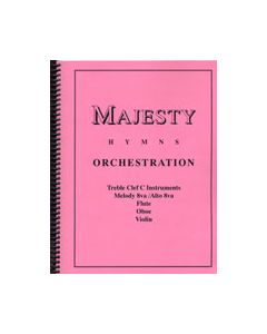 Majesty Hymns Orch: C - (Flute,Oboe,Violin)