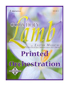 God's Holy Lamb - Printed Orchestration