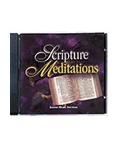Scripture Meditations Vol. 1 - CD