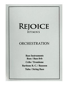 Rejoice Hymns - Orch: - Bass Clef C