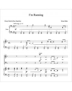 I'm Running - Choral Octavo - Printable Download