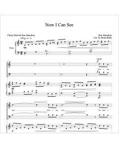 Now I Can See - Choral Octavo - Printable Download