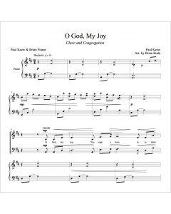 O God, My Joy - Choral Octavo - Printable Download