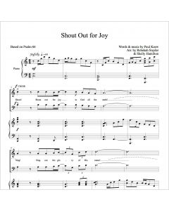 Shout Out for Joy - Choral Octavo - Printable Download