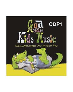 K4 - God Made Kids Music (CD #1)
