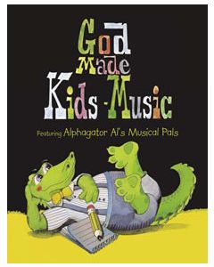 K4 - God Made Kids Music (Student Book)