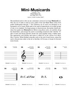 God Made Music - Musicards (Small)