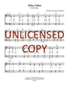 Abba, Father - Hymnal Style - Printable Download