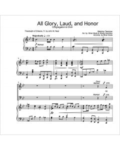 All Glory, Laud, and Honor - Choral Octavo - Printable Download