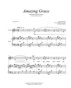 Amazing Grace (Marvelous Grace) (Children's 2-part)