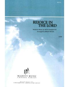 REJOICE IN THE LORD - Choral Octavo