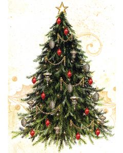 Christmas Tree - 20 Holiday Cards and Envelopes