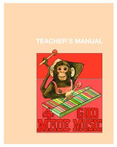 4th Grade - God Made Music (Teacher's Manual)