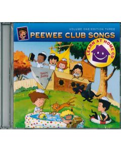 PeeWee Club Songs - Learn at Home CD - Vol. 1, Ed. 3