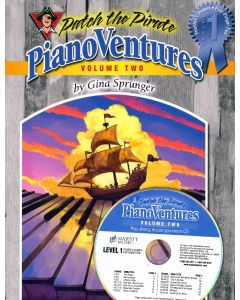 Pianoventures Vol. 2:1 Primer Book/CD