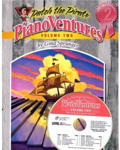 Pianoventures Vol. 2:2 Easy Book/CD