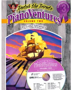 Pianoventures Vol. 2:3 Intermediate Book/CD