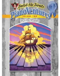 PianoVentures Volume 2 - PeeWee's Level 1 (Primer)