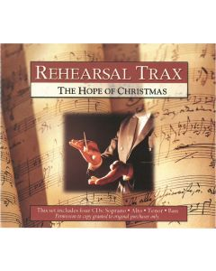 The Hope of Christmas - Rehearsal Trax (Set of Four CDs)