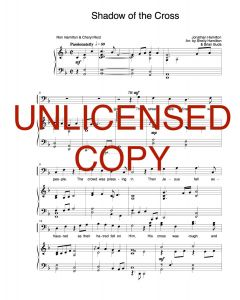 Shadow of the Cross - Choral Octavo - Printable Download