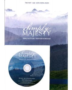 Simply Majesty Choral Book with Director's CD