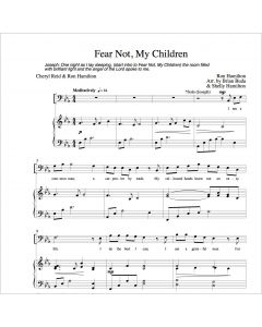 Fear Not - Choral Octavo - Printable Download