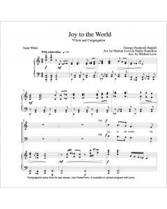 Joy to the World - Choral Octavo - Printable Download