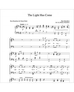 The Light Has Come - Choral Octavo - Printable Download
