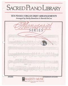 Manuscript Series: Ten Piano/Organ Duet Arrangements - Piano/Organ Sheet Music - Printable Download