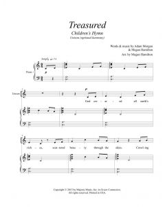 Treasured - Unison (optional harmony)