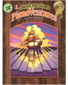 PianoVentures Vol 1:3 - Book/CD (Intermediate)