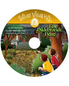 Willow Valley Kids - The Hildebrandt Heist - Illustration Pak