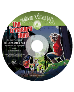 Willow Valley Kids - The Treasure Hunt - Illustration Pak