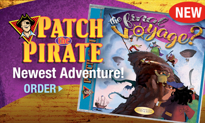 Patch the Pirate - The Final Voyage? CD